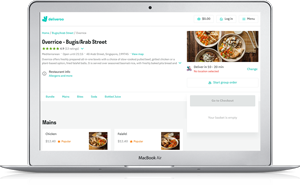 Click here to order Overrice from Deliveroo