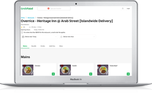 Click here to order Overrice from Grab food.