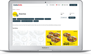 Click here to order Overrice from OddleEats